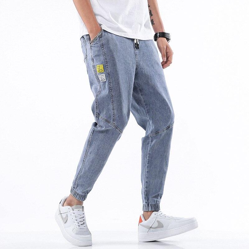 2020 Summer Style Jeans Men Leisure Jeans Pants Mens Black Denim Trousers Zipper Blue Hole Pants Jeans