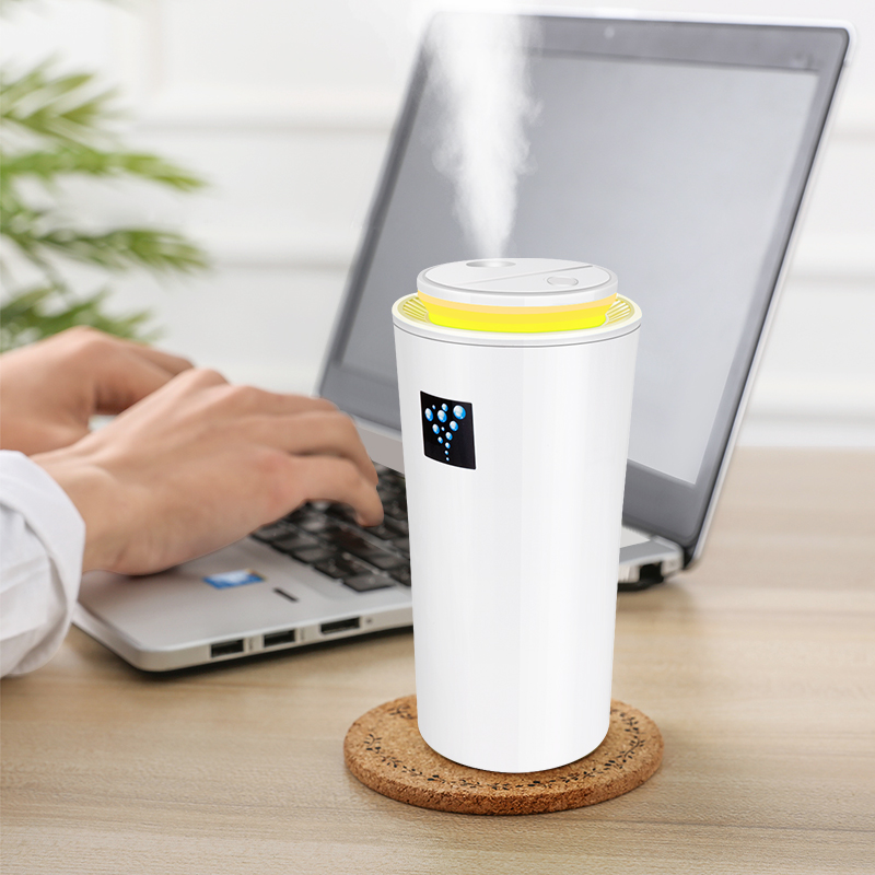 USB Car Aroma Humidifier  Mini Aroma Essential Oil Diffuser Ultrasonic Mist Maker Aromatherapy For Home Office Living Room