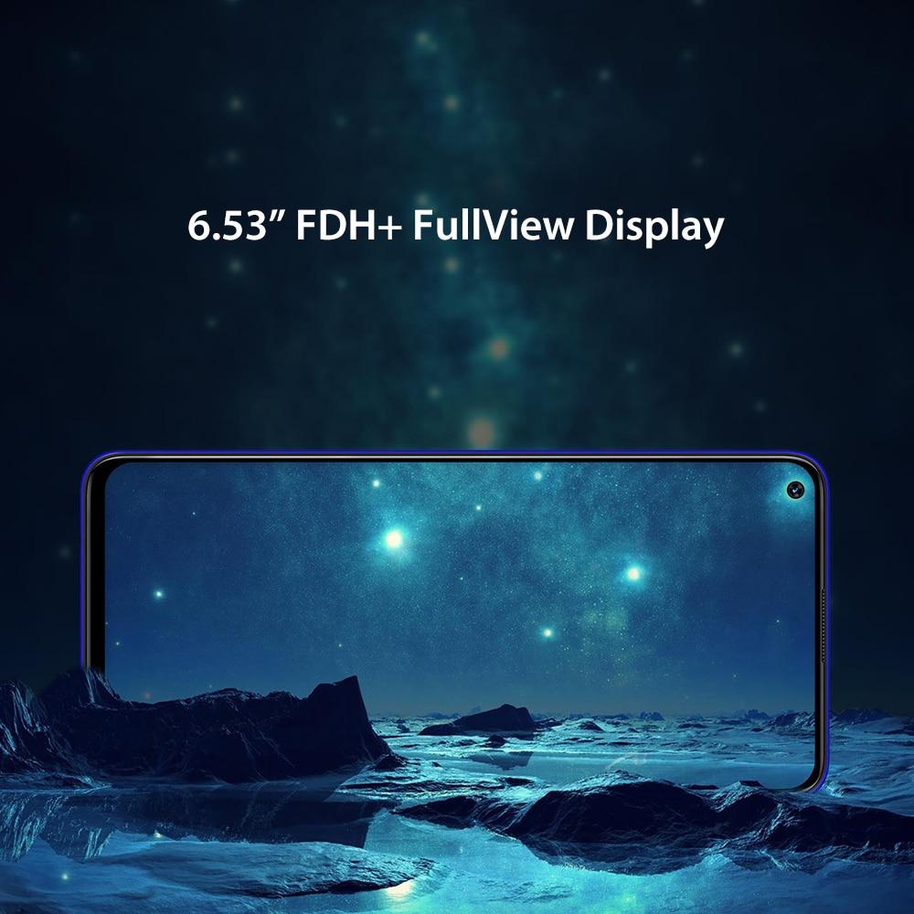 "Pre sale UMIDIGI F2 Android 10 Global Version 6 53 FHD 6GB 128GB 48MP AI Quad Pre-sale UMIDIGI F2 Android 10 Global Version 6.53""FHD+6GB 128GB 48MP AI Quad Camera 32MP Selfie Helio P70 Cellphone 5150mAh NFC"