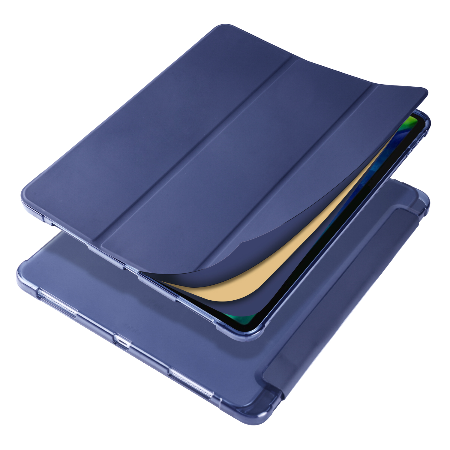 Smart Soft Shockproof Case for iPad Pro 12 9 2020 2018 3rd 4th Generation with Pen