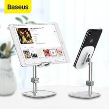 Baseus yükseltme ayarlanabilir telefon tutucu kaymaz istikrarlı masası cep telefonu standı iPhone 12 11 XR Samsung Xiaomi Huawei tablet