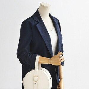 Image 3 -  2 Pieces Set Coat and Skirt Women Sets Plaid Skirt Suits Two piece Suit Casual Business Blazer Ladies Plus Size XL 5XL