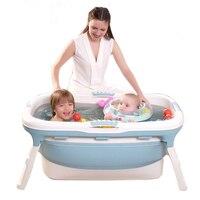 Baby Bath Tub two children Swimming Pool Large Bathtub Folding Bath Bucket