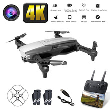 LANSENXI-NVO Profession drone WiFi FPV with 4K HD camera folding quadcopter Optical Flow Aerial Video Selfie Dron VS SG106