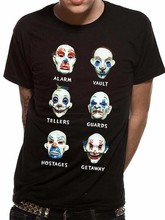 Vêtements le chevalier noir hommes Joker masques t-shirt 6976(China)