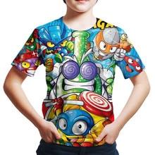 Girls Tshirts Serie Superzings Baby-Boy Boys Children Summer Camiseta 4
