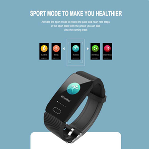 Image 2 - جديد سوار ذكي جهاز تعقب للياقة البدنية ضغط الدم مقاوم للماء سوار لياقة بدنية مراقب معدل ضربات القلب النشاط المقتفي SmartWatch الرجال
