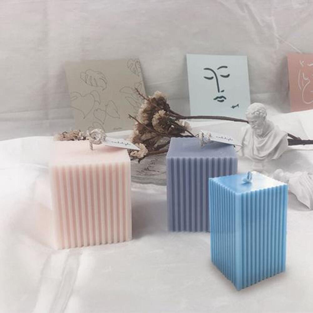 Форма «сделай сам» для изготовления свечей, мыла, квадратных мелких зубов, Пластиковая форма, форма для ароматизированных свечей, украшение...