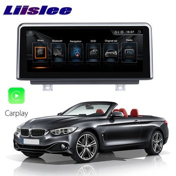 LiisLee Car Multimedia GPS Audio Hi-Fi Radio Stereo For BMW 4 Series F32 F33 F36 2013~2018 Original NBT Style Navigation NAVI