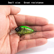 Luya Bait Pocket 3D Realistic Fisheye Lure Hard 4.5cm/4g Small Fish Special Killing Built-in Bead