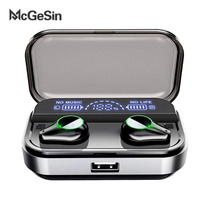 Image 1 - T10 Tws Earphones Wireless Headphone Bluetooth 5.0 Sport Touch Control Wireless Headsets Power Display Earbuds With Charging BOX