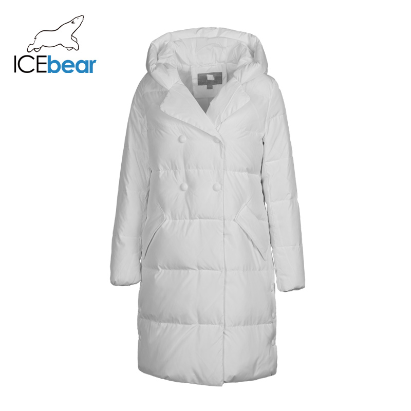 ICEbear 2019 New Winter Women's Down Jacket High Quality Warm Ladies Coat Brand Ladies Apparel D4YY83015Y