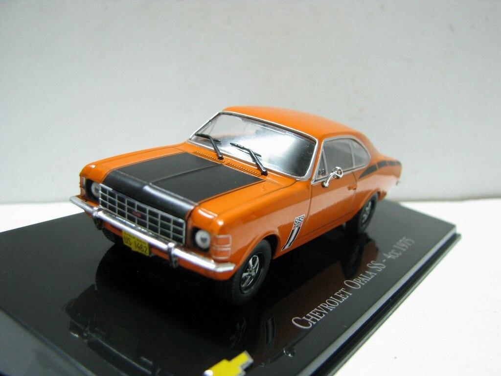 I xo 143 chevro deixe opala SS-4CC 1975 boutique liga carro brinquedos para crianças brinquedos modelo presente caixa original