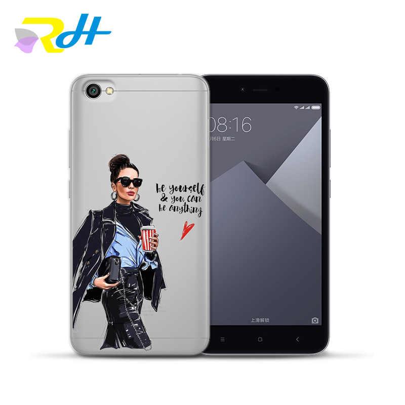 ため xiaomi A2 Coque 小箱シリコーンソフトシェルのためのファッションファッション黒美容少年カバー xiaomi mi 5 × 6 8 A2 lite ケース