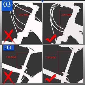 """Image 3 - Wolfs fang Bicicleta de Montaña plegable, 21 velocidades, 26 """", frenos de disco dobles"""