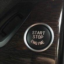 Автомобильный Кристалл Алмазный Кнопка запуска и остановки двигателя Замена крышки Переключатель аксессуары ключ для BMW X1 X5 X6 E71 Z4 E89 3 5 серии E90 E60