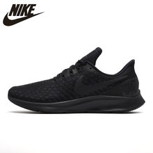 NIKE Air Zoom Pegasus 35 Running Shoes Outdoor Sneakers Classic Black for Men 942851-002 40-45(China)
