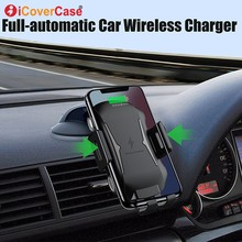 For Ulefone power 5 5s Armor X 6 Fast Wireless Charger Doogee S70 Lite BL9000 Qi Charging Pad Car Phone Holder Accessory