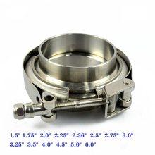 ZUCZUG – collier de serrage pour tuyau d'échappement, en acier inoxydable 1.5, 6.0-304
