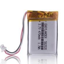 CE ROHS 582535 602535 470mAh bateria do MIO 600 mio 356hd Mio 369 papago parkcity 710 tajemnicza MDR-985HDG Karkam M1 SP5