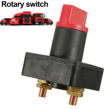 100A Battery Isolator Disconnect Power Cut Off Kill Selector Switch for Boat Car Van Truck UND Sale image