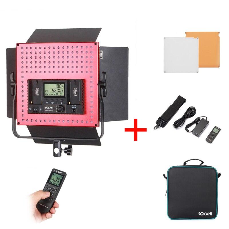 Sokani X600 Pro 600pcs Bi-Color 3200K-6500K Led Video Light Panel 4800LM Studio LED Lighting for Video Studio Interview Portrait