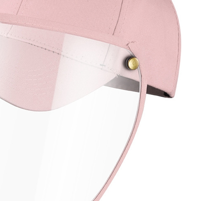 Face Shield Protective Baseball Cap for Anti-Fog Saliva Sneeze Adjustable Shield Protection 5