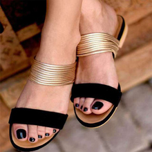 2020 Summer Shoes Women Rome Sandals Hot Retro Wedges Gladiator Non-slip Slippers Ladies Party Office Shoes Beach Sandals Slides