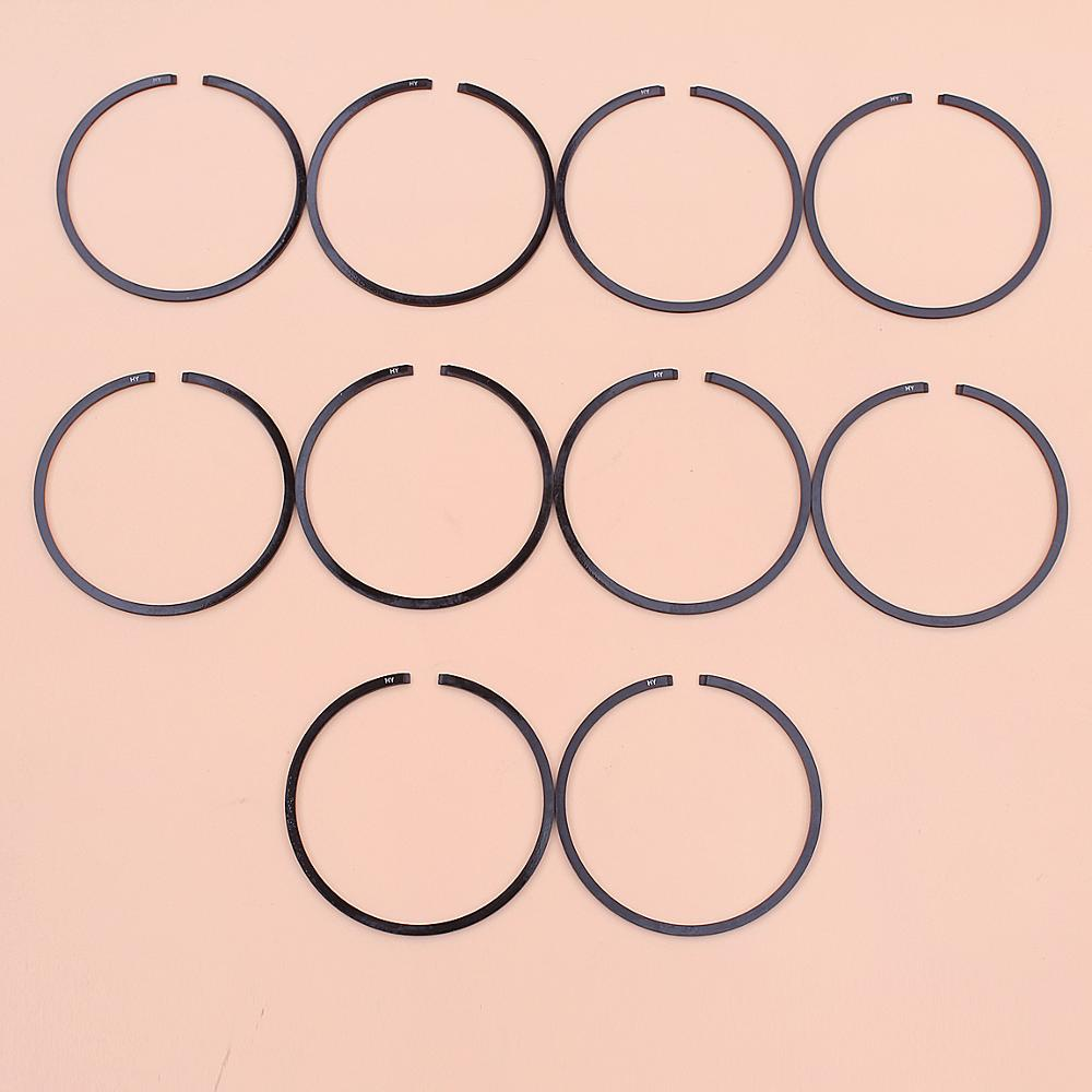 10pcs/lot Piston Rings For Stihl MS361 MS362 MS291 MS311 MS341 Chainsaw Part 1135 034 3000 47mm X 1.2mm