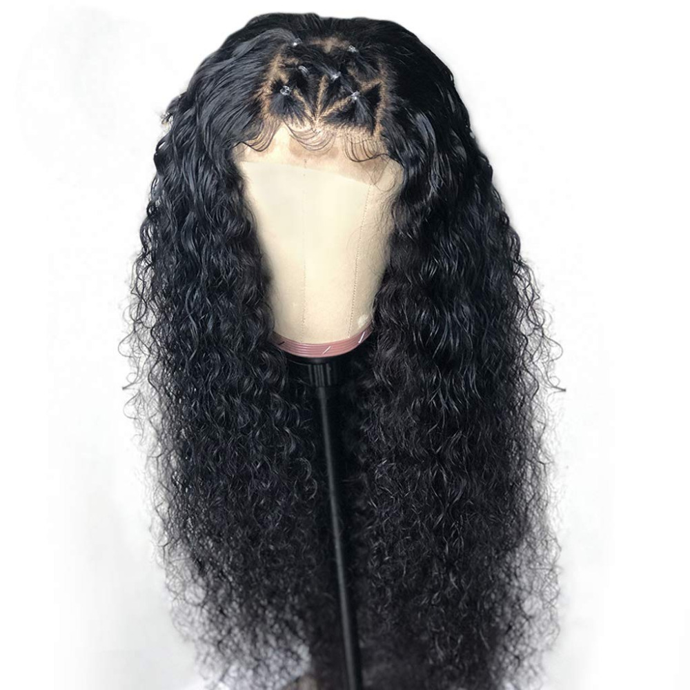 Eversilky Full Lace Human Hair Wigs Curly Remy Human Hair Wig 130%-180% Density Brazilian Human Hair Wigs With Baby Hair