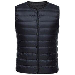 Image 5 - Женский стеганый светильник SEMIR, легкий пуховый жилет на молнии, карманный светильник, куртка бомбер с воротником, жилет на подкладке для женщин