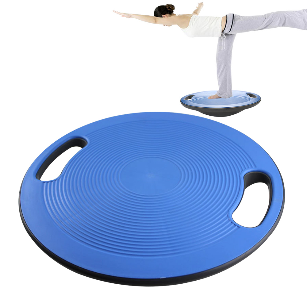 Stable Yoga Gym Strong Bearing Round Plate Waist Twisting Anti Skid Balance Board Training Sports Non Slip Disc Wobble Exerciser
