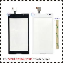 Сенсорный экран 5,0 дюйма для Sony Xperia C S39H C2304 C2305, дигитайзер, переднее стекло, сенсорная панель объектива