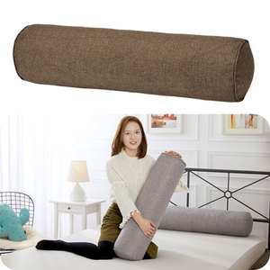 New Round Cotton Linen Roll Headrest Baby Nursery Protector Bed Crib Around Pillows Room Sleeping Supplies Sofa Neck Cushion
