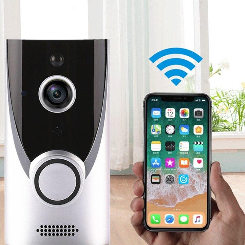 WIFI Doorbell Smart Wireless Visual Video Door Intercom 720P Motion Detection Outdoor DoorbellCamera Night Vision Home Security