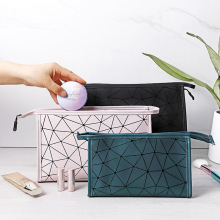 Waterproof PU Travel Organizer Bag Unisex Women Cosmetic Bag