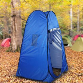 2020 Portable Privacy Shower Toilet Camping Pop Up Tent Camouflage/UV function Outdoor Bath Dressing Tent/Photography Tent Blue quick opening dressing shower fishing tent one touch waterproof camping toilet changing room with carrying bag