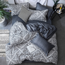 Duvet capa de edredon, jogo de roupa de cama 3 peças, edredon/colcha/cobertor case twin queen king cama dupla