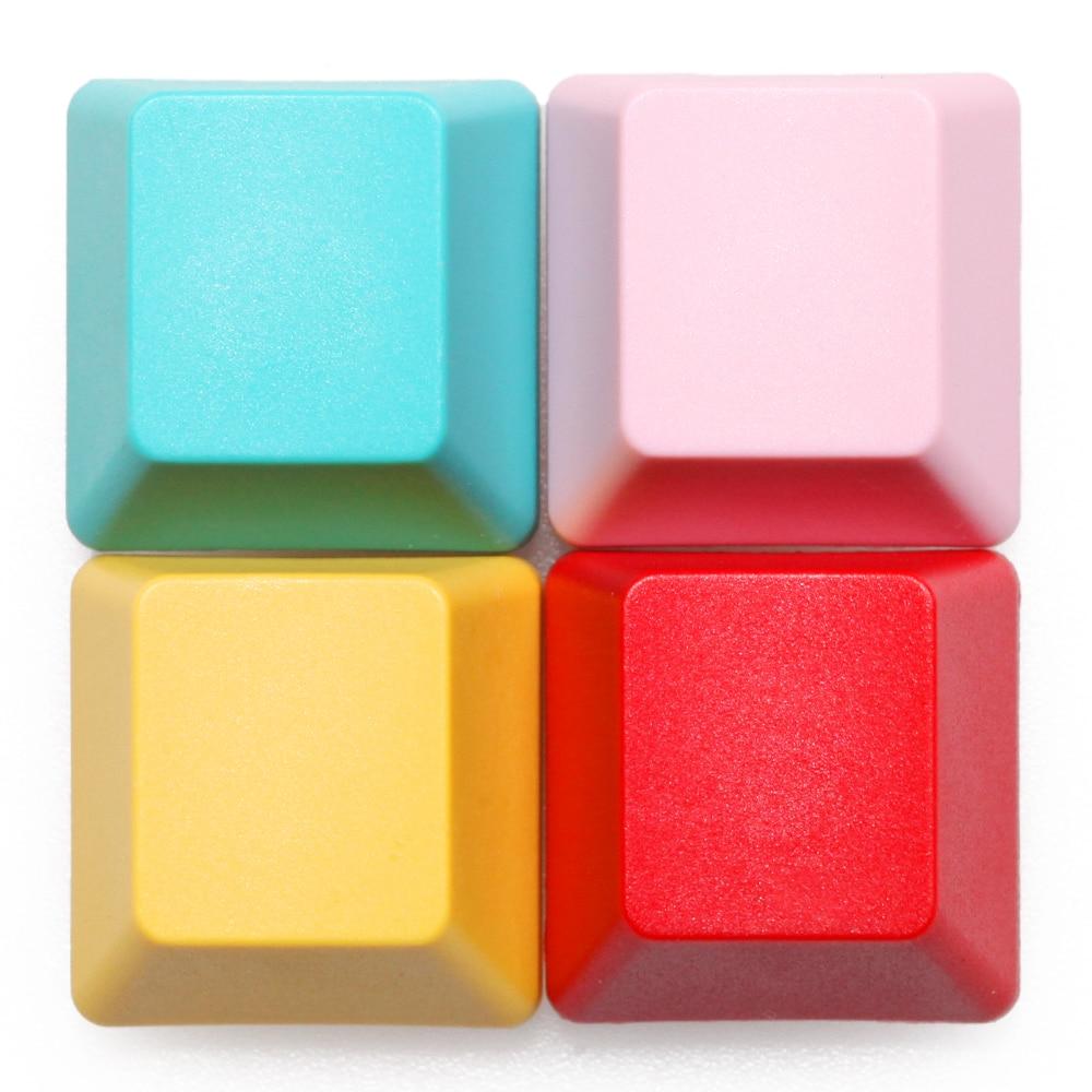 HHKB Topre PBT Blank Keycaps Blank 1u 1x R1 R2 R3 R4 For Diy Gaming Mechanical Keyboard Red Green Pink Yellow