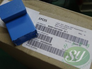 Image 3 - 6PCS NEW EPCOS B32914A3155M 1.5UF 330VAC PCM27.5 film capacitor B32914 155/330VAC X1 p27.5mm MKP 1.5uf/330vAC 1u5 155