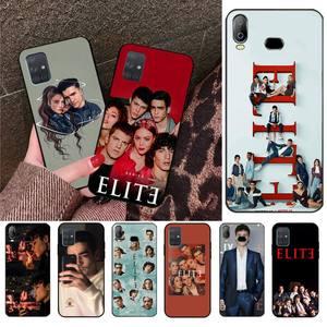 Spanish TV series Elite DIY Painted Bling Phone Case For Samsung A10 A20 A30 A40 A50 A70 A80 A71 A91 A51 A6 A8 2018