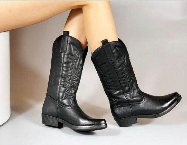 [[Giải Tỏa] Phẳng Nền Tảng Giày Da Bò Nữ Giày Nữ Thu Đông Bộ Lông Mùa Đông Nam Da Bò Thời Trang Vòng Giày Cao Gót Nữ giày