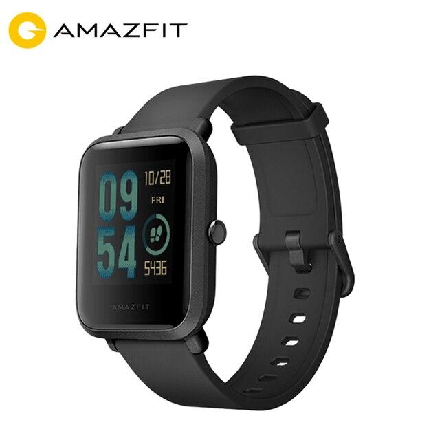 [Spanish Version] Amazfit Bip GPS Smart Watch Men Women Smartwatch Heart Rate 45 Days Standby IP68