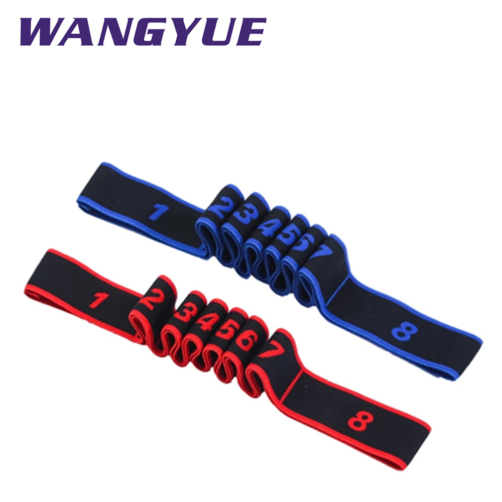 Yoga Pull Riem Riem Polyester Latex Elastische Latin Dance Stretching Band Loop Yoga Pilates Gym Fitness Oefening Resistance Bands