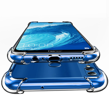 luxury phone case on for huawei y5 lite y6 y7 y9 pro prime 2018 2019 fitted covers bumper mobile phone accessories bag tup cases tanie i dobre opinie ZLNHIV Zderzak Air hockey Zwykły Przezroczysty Anti-knock Heavy Duty Ochrony silicone case tpu case phone bumper covers phone