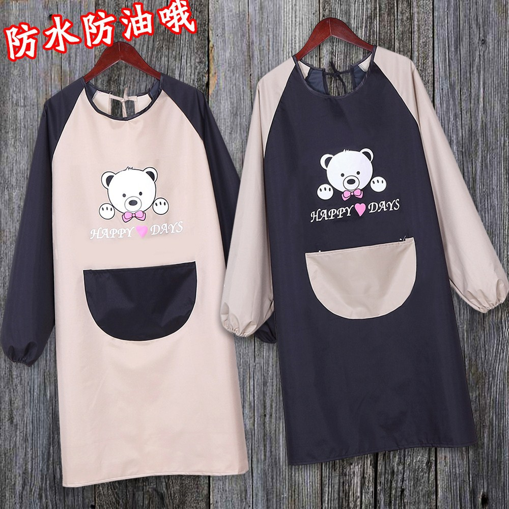 Overclothes Adults Adult University Fine Art For Student Painting Apron Long Sleeve Literature And Art Large Size Autumn And Win