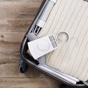 Image 3 - Xiaomi Mijia taşınabilir giysi kurutma makinesi tek düğme akıllı elbise kurutma rafı Mini katlanabilir seyahat için giysi iş gezisi