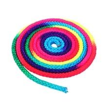 Rainbow Color Rhythmic Gymnastics Rope Solid Competition Arts Training Sports