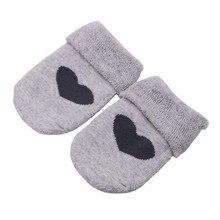 Autumn Summer Little Baby Boy Girl Heart Pattern Design Solid Socks Cotton Newborn Short Stockings 2021