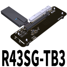 ADT Link R43SG TB3 PCIe x16 PCI-e x16 zu TB3 Verlängerung Kabel PCI Express Kabel eGPU Adapter Thunderbolt 3 Docking station(China)